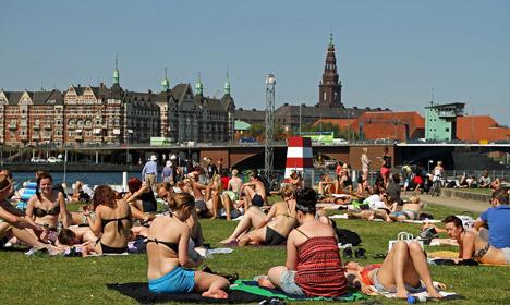 Denmark to finally get some summer heat