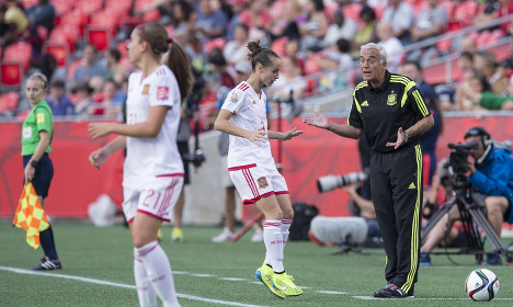 Calls for Spanish coach's exit after World Cup flop
