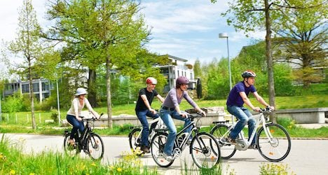 E-bike accidents prompt Swiss safety campaign