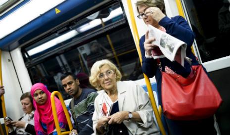Eight savings made by Madrid mayor Manuela