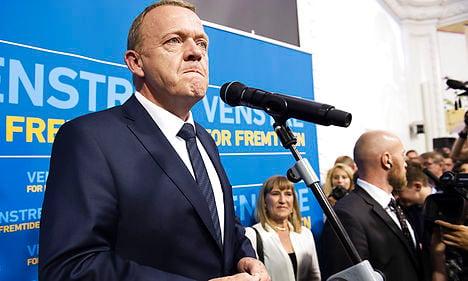 Denmark's Rasmussen takes power