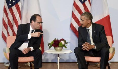 Obama tells Hollande: Snooping will stop