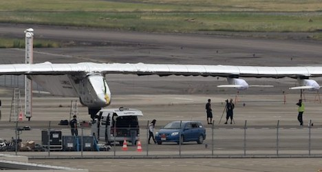 Solar Impulse heads to Hawaii as weather clears