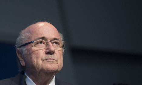 Blatter 'not a candidate but elected president'