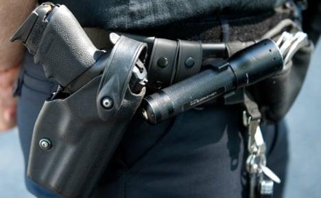 Cop's pistol vanishes during toilet break