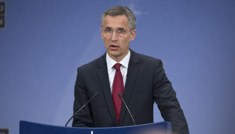 'We don't want an arms race': Stoltenberg