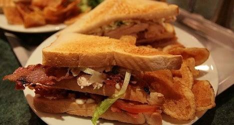 Geneva club sandwiches remain 'priciest in world'