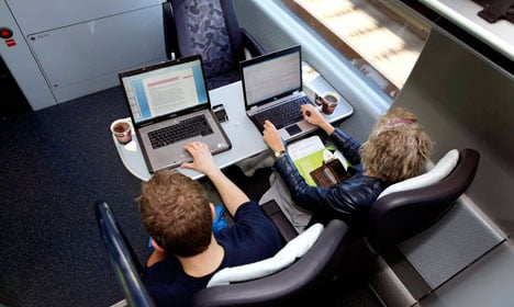 Denmark's trains get free and better internet