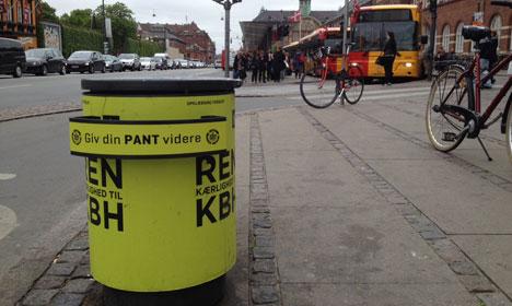 Copenhagen gives bottle collectors 'dignity'