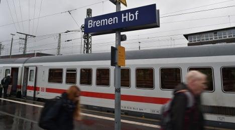 Fare-dodger leaps from train to escape fine