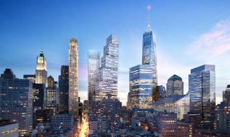 Danish architect reveals World Trade Center plans