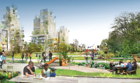 Locals say 'non' to plans for a Paris 'Central Park'