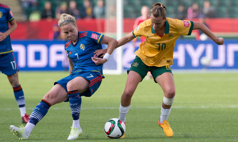 Sweden hangs by thread after draw with Aussies