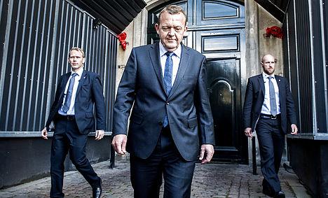 Rasmussen begins govt negotiations