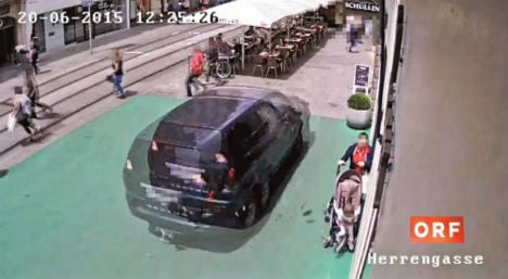 Video footage of Graz car rampage shown