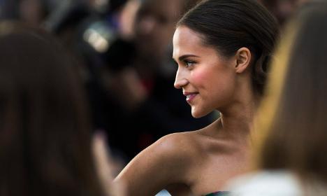Sweden's Alicia Vikander joins new Bourne movie