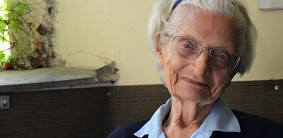 Nazi resistance heroine dies aged 95