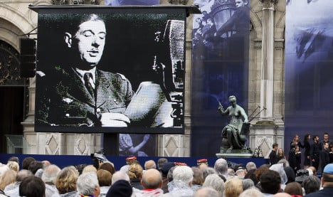 France skips Waterloo to honour De Gaulle