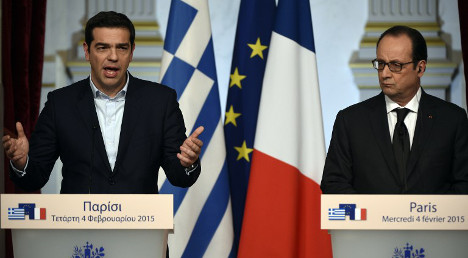 Hollande on Greece: 'Do everything to find deal'