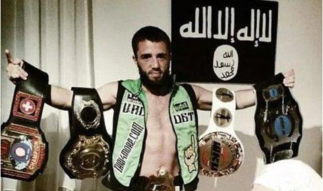 Kick-boxing world champion joins Isis