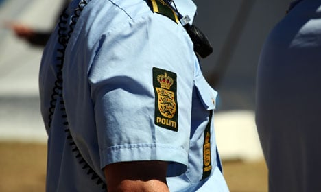 Danish police attacked with Molotov cocktail