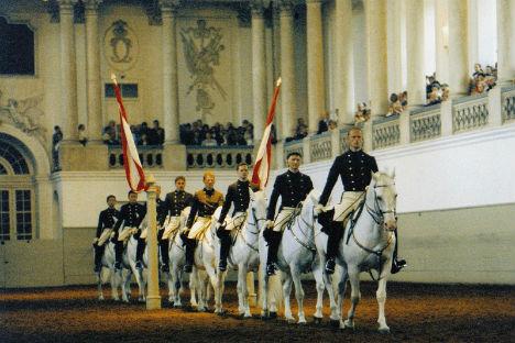 Spanish Riding School celebrates 450 years