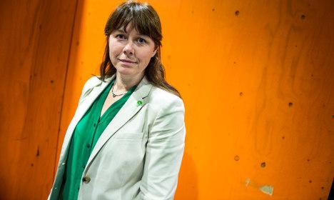 Sweden's green leader broke toxic paint rules