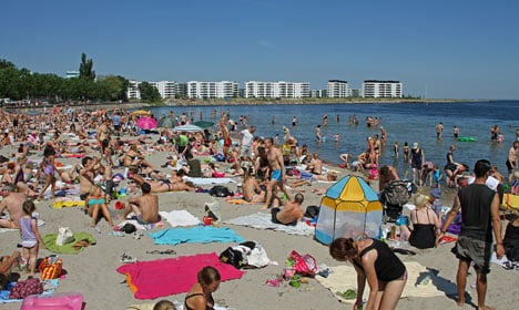 Denmark's week to 'get warmer and warmer'