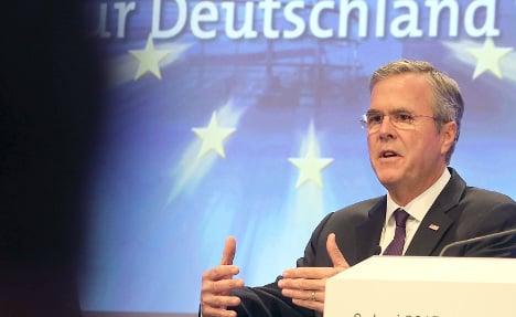 German media praise 'clever, curious' Bush