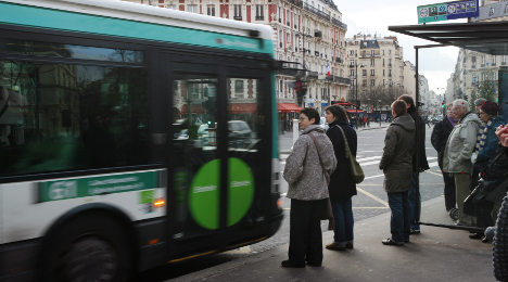 Bus driver strike and taxi protests to hit Paris
