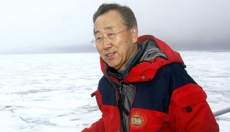 Ban Ki-Moon to visit Svalbard in climate move