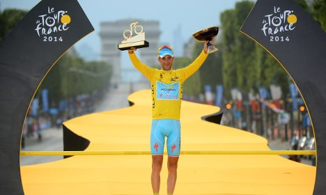 Italian champion ready for Tour de France