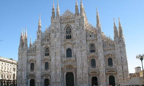 Rogue drone slams into Milan cathedral
