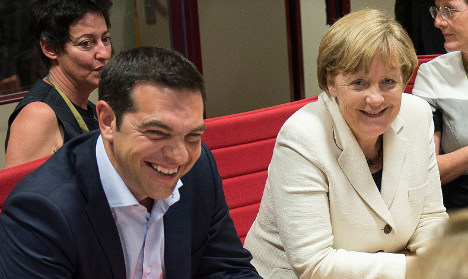 Grexit 'no longer out of the question' for Merkel