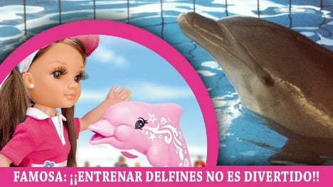 Charity wants recall of 'cruelty to dolphins' doll
