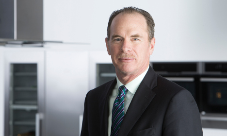 Electrolux boss denies plan to quit Sweden