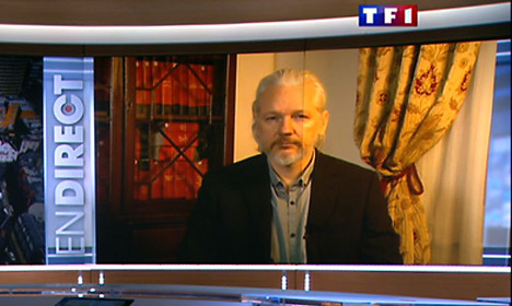 Assange urges France to take action against US