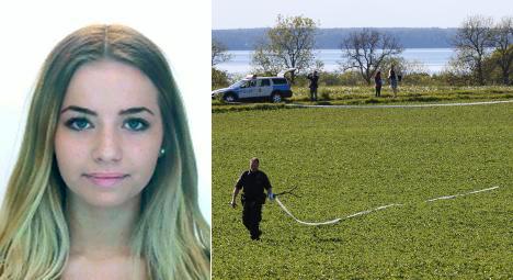 Huge police hunt for missing Swedish teen