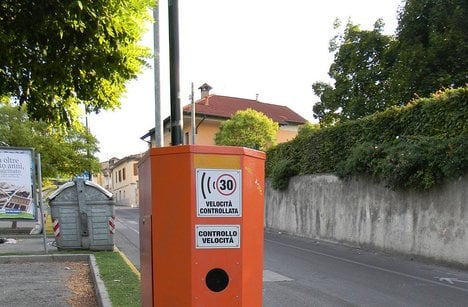Are Italy's speed cameras ripping you off?