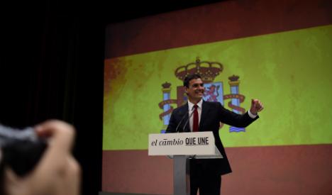Sánchez chosen to lead Socialists in PM race