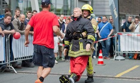 Hanover welcomes toughest fireman contest