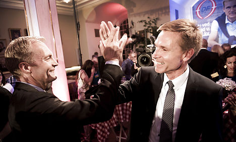 Danish populist right secures blue bloc win