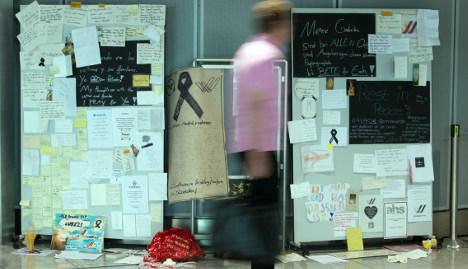 Germanwings co-pilot buried in silence