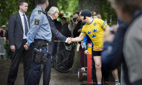 Swedish stag party tells of 'sick' King moment
