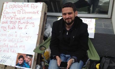 Syrian refugees resort to hunger strikes