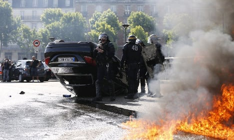 France vows to stop UberPop amid protests