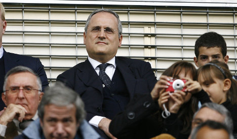 Lazio football chief facing extortion probe