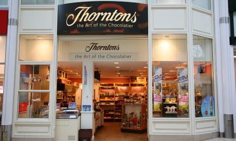 Italian Nutella maker to buy Britain's Thorntons