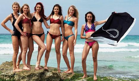 French firm's new 'smart bikini' to stop sun burn