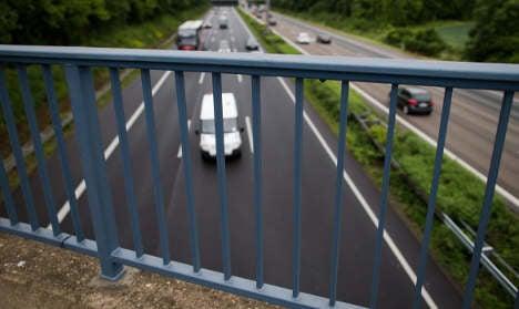 Judge jails two for causing Autobahn havoc